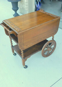 NEW Price TEA CART - NICE SHAPE!