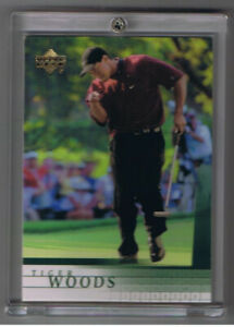 2001 UPPER DECK TIGER WOODS ROOKIE CARD and 200 Card Set