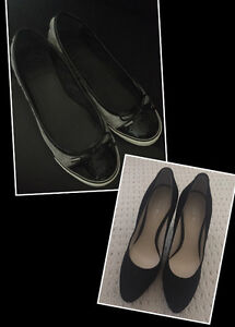 *Tory Burch* flat shoes&*Nine West* pump. Only wore a few times.