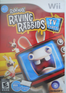 Wii Game - Rayman Raving Rabbids Tv Party