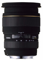 Sigma 24-70mm F2.8 Lens Nikon w/ polarizing filter A+ Condition