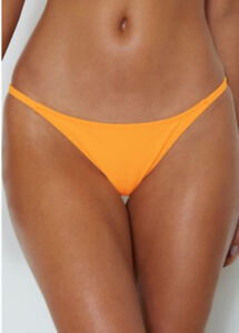 White Fox Boutique. Thira Bikini Bottoms - Tangerine (s)