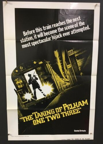 The Taking of Pelham One Two Three Movie Poster Advance    *Hollywood Posters*
