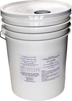 5 Gallons of Corrosion Inhibited Propylene Glycol Antifreeze Food Grade USP on Rummage