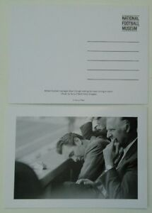 DERBY COUNTY BRIAN CLOUGH National Football Museum postcard