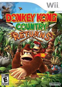 Donkey Kong Country Returns Wii Game St. John's Newfoundland image 1