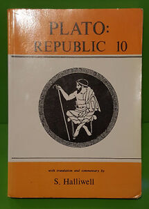 Plato: Republic 10 with translation & commentary by S. Halliwell