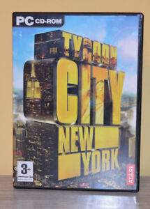 Tycoon City New York Atari PC CD-Rom-Very good conditon