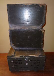 WW 1 Ammo Cases WW 2 Browning