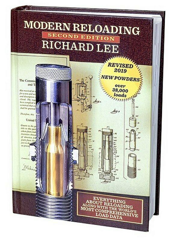 Lee Reloading Modern Reloading 2nd Edition by Richard 692 Pages 90277