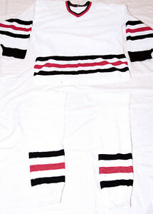 Hockey Jerseys - Sweater & Socks- Home or Away Colors