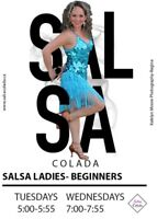 NON PERFORMANCE Couples and Ladies only Salsa Lessons
