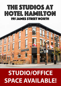 Studio/Office Space in the Heart of James Street North