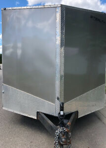 "2015 titan stealth trailer 8'x 16'8"" inside measurements  WOW!!!"
