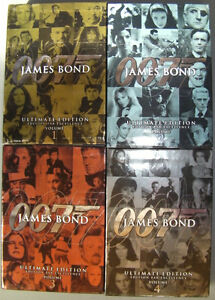 DVD 007 James Bond Ultimate Edition Volume 1, 2, 3 and 4