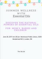 Essential Oils For Momma's, Babies, and Children