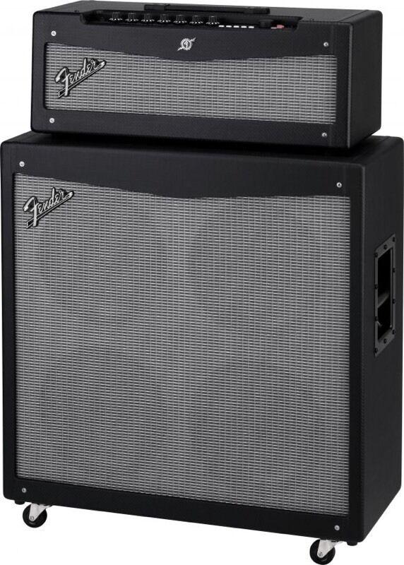 Fender Mustang V Half Stack Amplifier Head & Cabinet Speaker 4 x ...