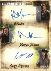 AMC - The Walking Dead Trading cards complete collection
