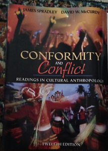 Conformity and Conflict Readings in Cultural Anthropology -12th
