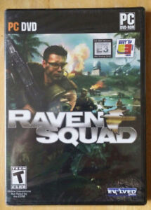 NEW Raven Squad PC DVD PC DVD Rom produced by Robert Kennedy -