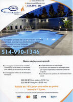 Heating Service and Pool/Service de Chauffage et Piscine.