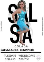NON PERFOMANCE Couples and Ladies Only Salsa Lessons