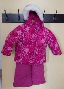 18 month pink winter coat and snow pants, Size 5 boots London Ontario image 1