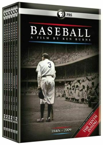 ~Brand New Baseball A Film by Ken Burns (DVD, 2010, 11-Disc Set) SEALED