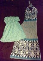 Lots of very cute dresses. Sizes small- medium. Great shape