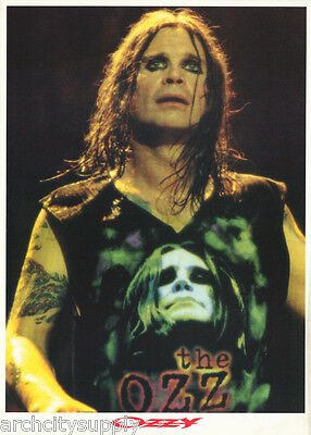 POSTER :  MUSIC :  OZZY OSBOURNE - THE OZZ -       FREE SHIPPING !        RW7 L