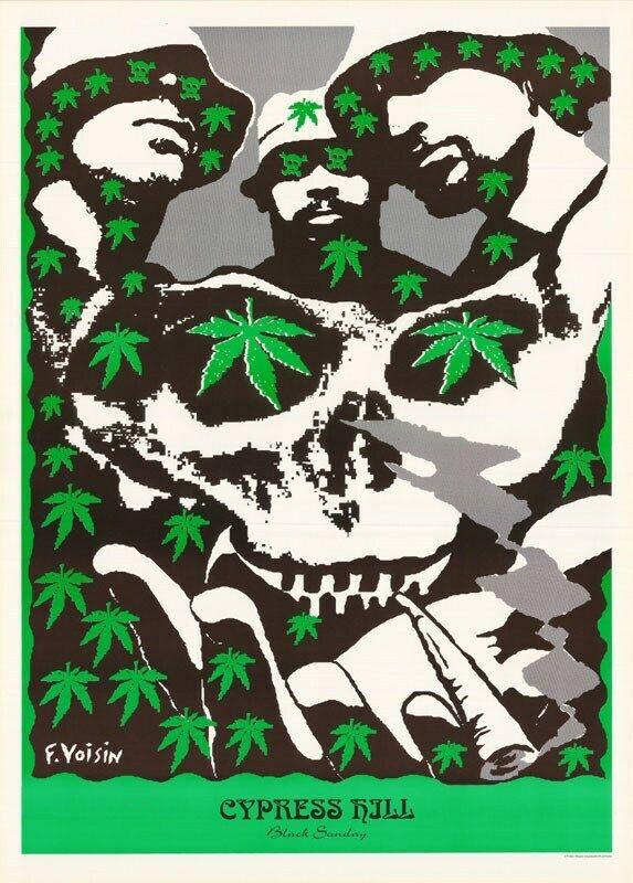 Cypress Hill Poster  Black Sunday Band Shot