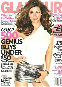 Glamour Magazine July 2010: Cover Jessica Biel
