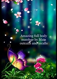 Full body Swedish massage by Maia