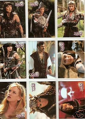 Xena Topps Series 3 complete 72-card base set Season 3