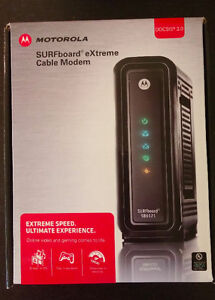 extreme speed cable modem + free modem router for only $40