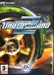 CD-Rom   NEED FOR SPEED: UNDERGROUND – EA Games