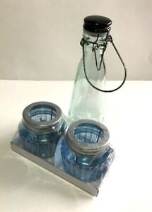 Small Lantern Set With Jar/Bottle - UNSOLD AUCTION ITEM - NEW
