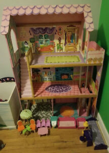 *BEST OFFER* KIDKRAFT WOODEN LARGE BARBIE DOLLHOUSE
