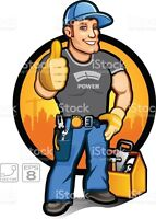 HANDYMAN FOR ALL SERVICES Call 780 235 4233