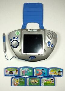 Leapster Educational Gaming System and 7 Games