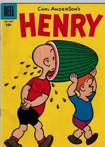 Henry Dell Comic Book 1956 vol 1 issue 47 Kitchener / Waterloo Kitchener Area image 1