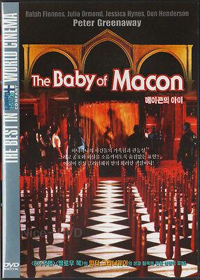 The Baby of Macon (1993) DVD, NEW!! Julia Ormond, Peter Greenaway