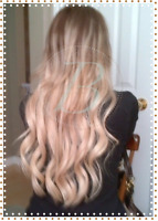 Human Hair Extensions ~ Nano ~ Fusion ~ Tape