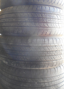 4 Tires sized 205.55.16 at 85% Tread left on them