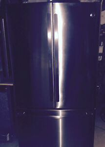 FRIGO REFREGERATEUR STAINLESS 36 FRIDGE FREEZER GE