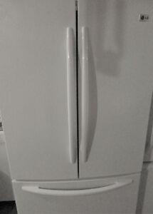 LG Fridge Double Doors with Freezeron the Bottom and Ice Maker