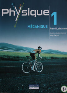 Manuel scolaire physique 1 mécanique