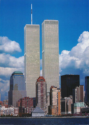 POSTER : PHOTO : NY SKYLINE TRADE CENTER TWIN TOWERS by CORBIS #PP0304   RC53 Q