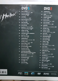 BOOK and 2 x DVDs SET- JAZZ, BLUES, ROCK ARTISTS LIVE AT MONTREUX L@@K !!