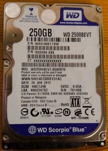 250 GB SATA 3.0 HDD - BUNDLE AVAILABLE